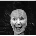 Hillary Clingon face